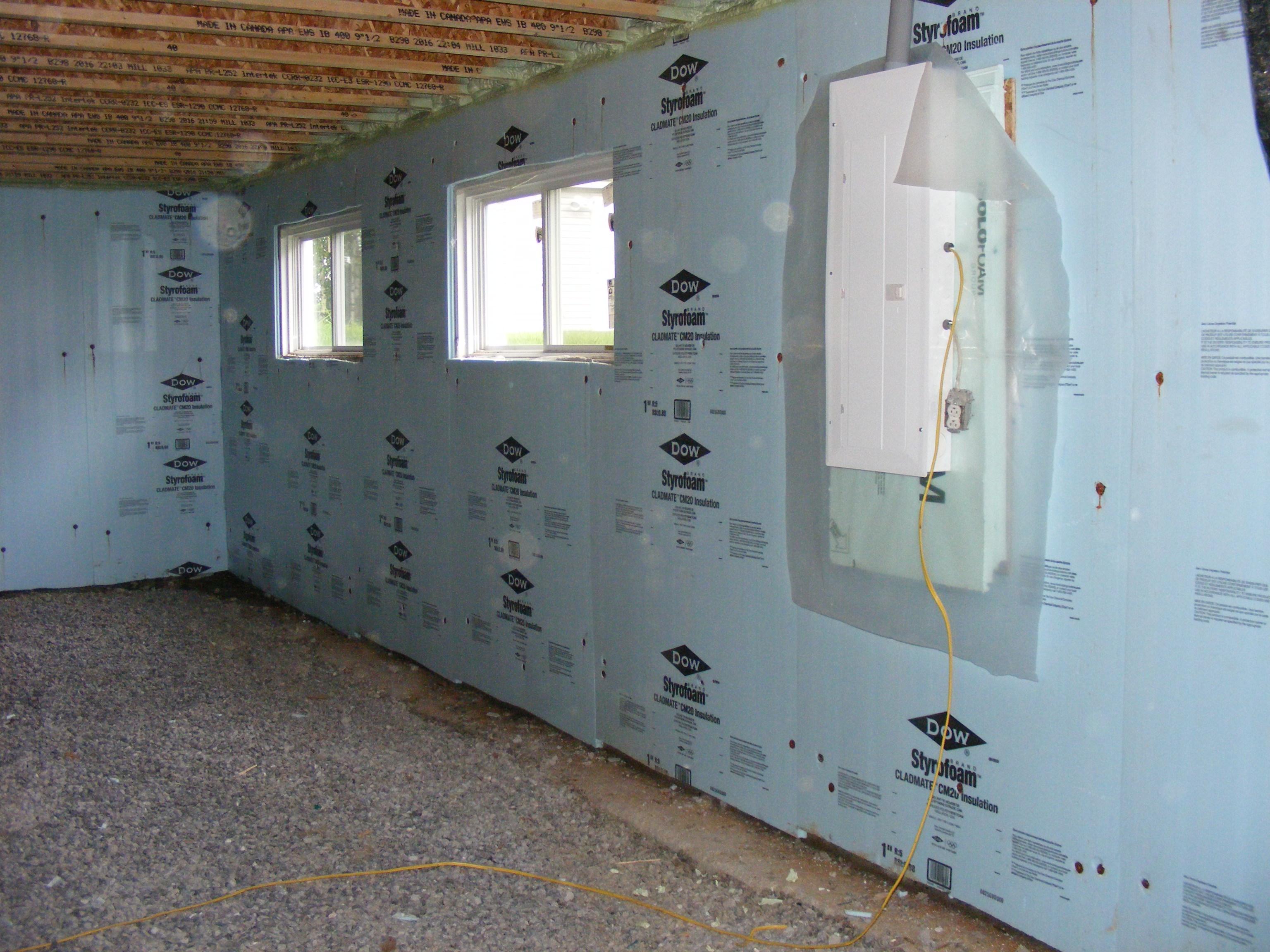Isolation des murs du sous-sol - lamaisonalacarte.com